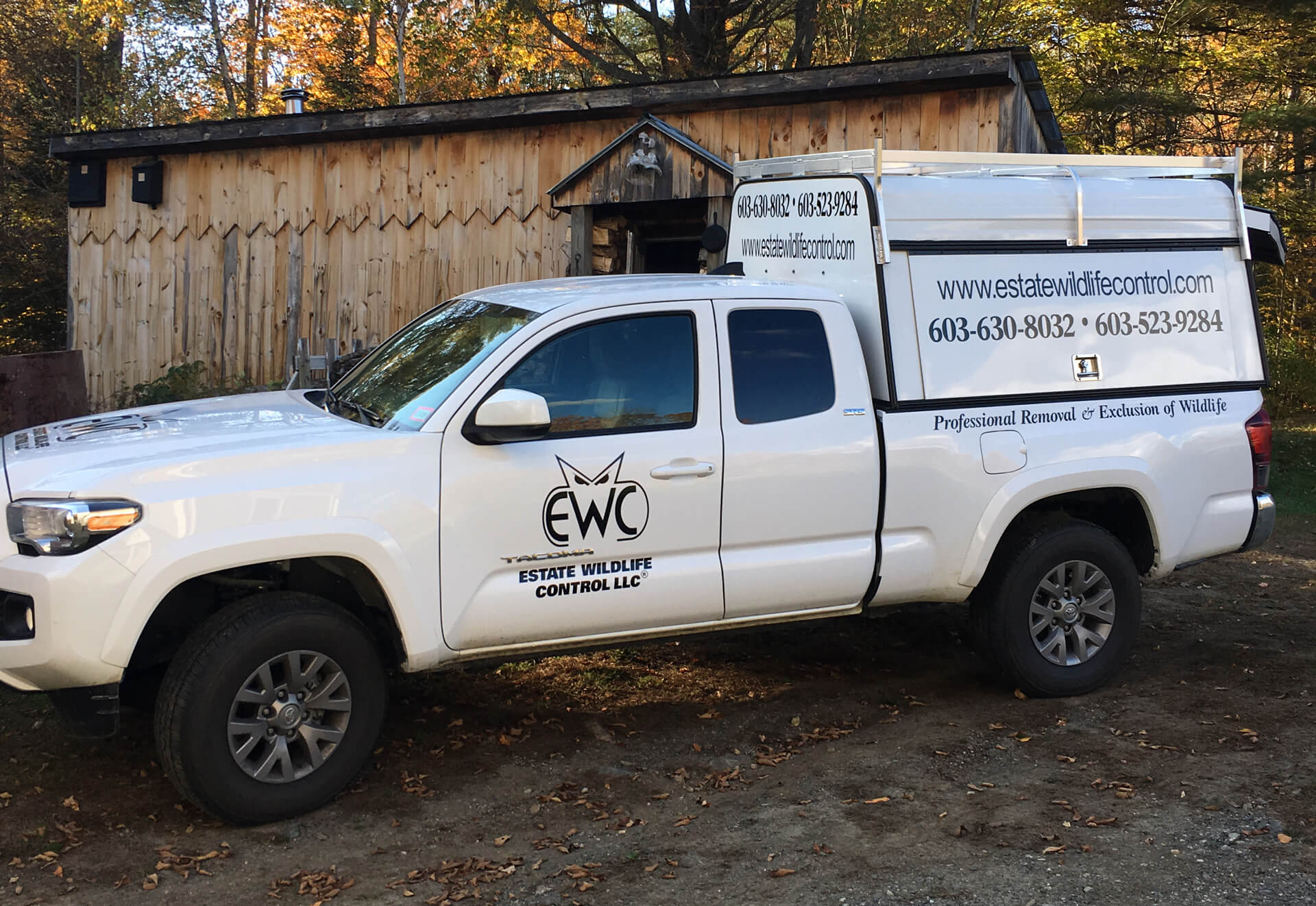 Estate Wildlife Control Truck